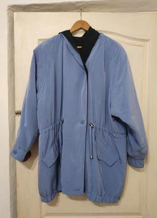 Куртка-ветровка, плащ укороченный