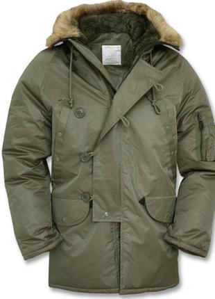 """Зимняя куртка N3B """"Аляска"""", MMB, Германия."""