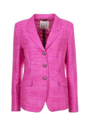 Nvsco шерстяной блейзер цвета фуксии, пиджак из шерсти, жакет