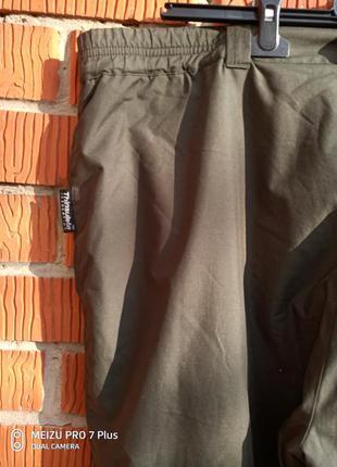 Треккинговые брюки штаны на тинсулейте shamp