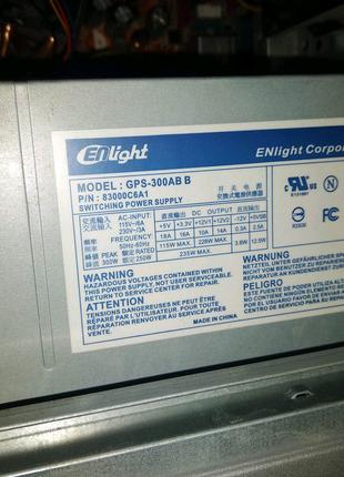 Блок питания 300w для Пк, Компьютера, системника