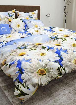 Комплект постельного белья ромашки