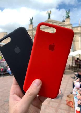 IPhone 7plus/8Plus silicone case. Чехол для айфона 7 плюс / 8 плю