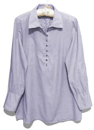 Женская удлиненная рубашка длинный рукав vero moda