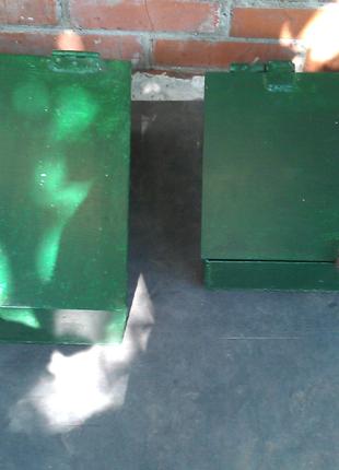 Металлический ящик сейф под навесной замок