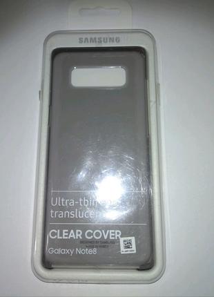 Супер знижка!!!Бампер Samsung Galaxy Note 8, Сlear cover.