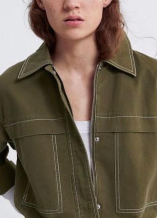 Куртка джинсовая Зара Zara M