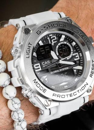 Часы casio g-shock white