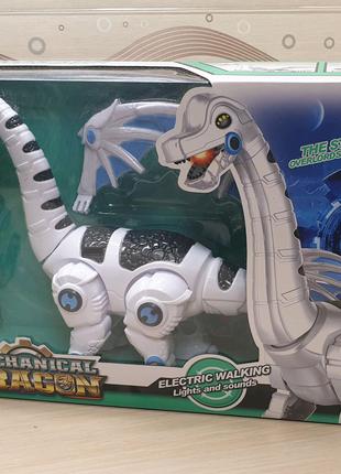 Дракон 31см  свет ходьба звук интерактивная игрушка