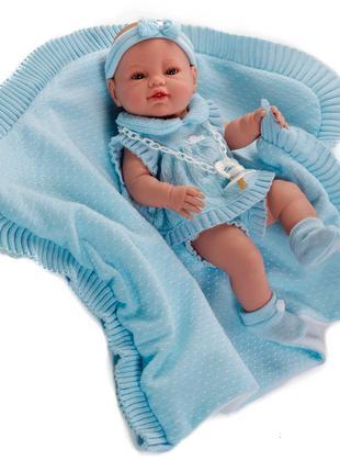 Кукла Пупс новорожденный 42 см, Munecas Berbesa 5100R