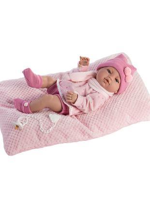 Кукла Пупс новорожденный 42 см, Munecas Berbesa 5115