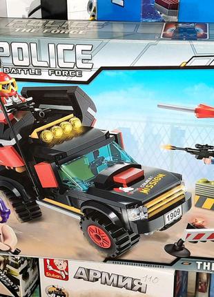 Конструктор Police Задержание преступников