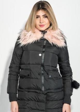 Куртка трансформер time of style с искусственным мехом