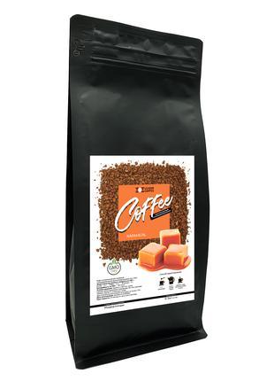 Кофе растворимый сублимированный с ароматом Карамели