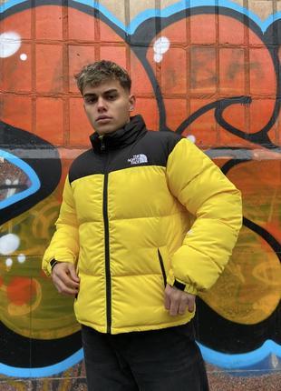 Куртка мужская желтая