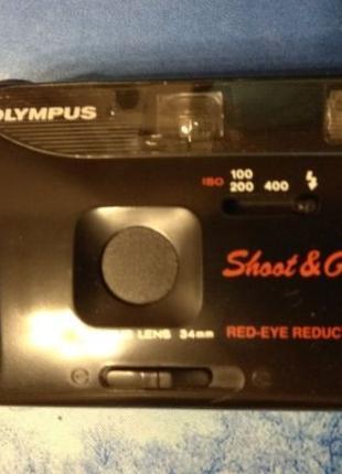 Olympus Shoot and Go R - Lens 34mm Олимпус пленочный