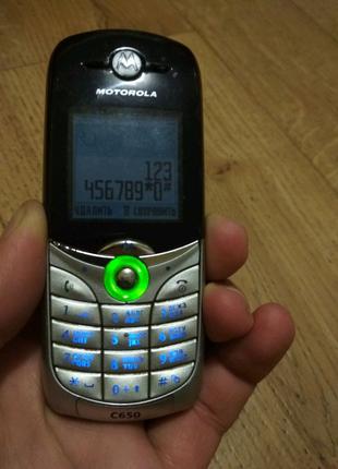 телефон Motorola C 650