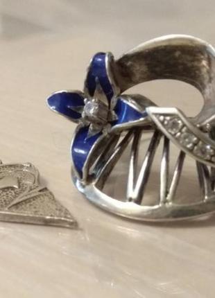 Кольцо и часть кулона Серебро