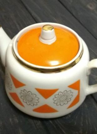 Чайник #2 фарфор Городница