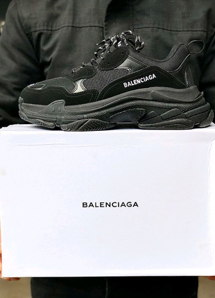 Кроссовки Balenciaga Triple S Full Black