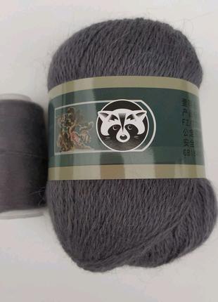 Пряжа для вязания пух норки 804