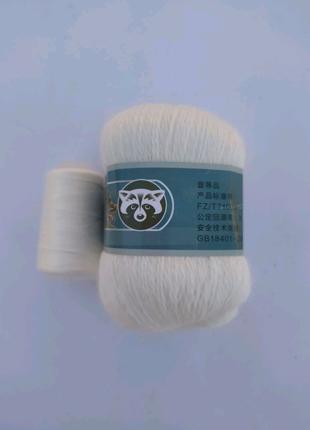 Пряжа для вязания пух норки 801
