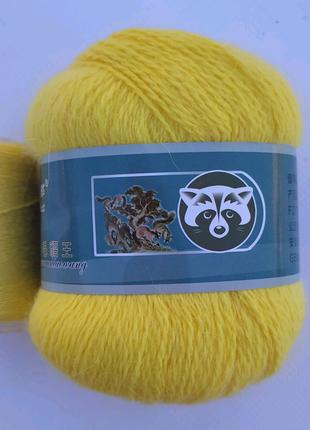 Пряжа для вязания пух норки 824
