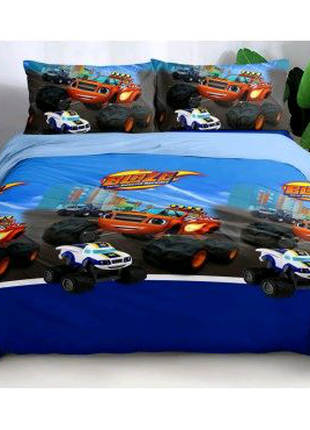 Детское постельное белье Машина