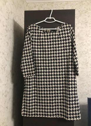 Платье гусиная лапка h&m, новое!