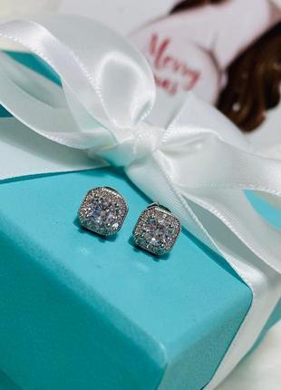 Женские серебряные серьги 🔥топ качество