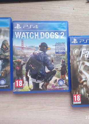 Assassin's creed syndicate, watch Dogs 2, Fallout 4