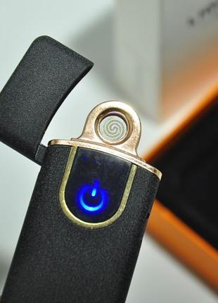 USB зажигалка Lighter ZGP 6 спиральная сенсорная электрическая