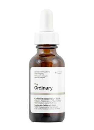 The Ordinary - Caffeine Solution 5% + EGCG - Сыворотка под глаза