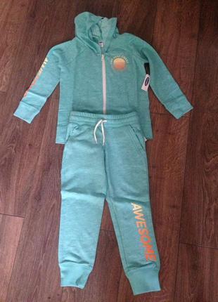 Детский спортивный костюм old navy для девочек