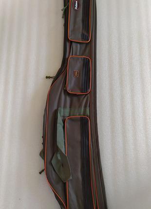 Карповый чехол полужесткий для удилищ удочек 3 отделения 150 см