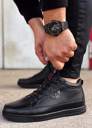 Мужские зимние ботинки | Ручная работа