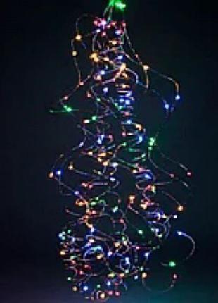 Гирлянда новогодняя на медной проволоке Xmas Конский хвост