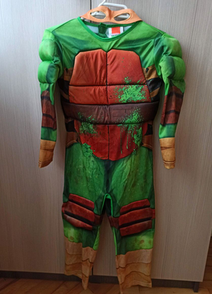 Карнавальный костюм на 5-6 лет Ниндзя черепашка