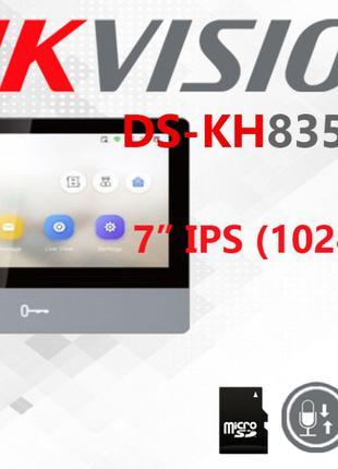 IP видеодомофон Hikvision DS-KH8350-TE1 -WTE1