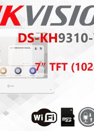 IP видеодомофон Hikvision DS-KH9310-WTE1 встроенный Android