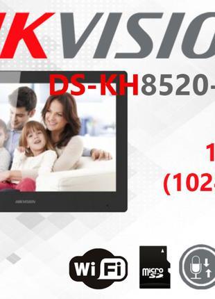 IP видеодомофон Hikvision DS-KH8520-WTE1