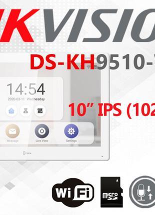 IP видеодомофон Hikvision DS-KH9510-WTE1 встроенный Android