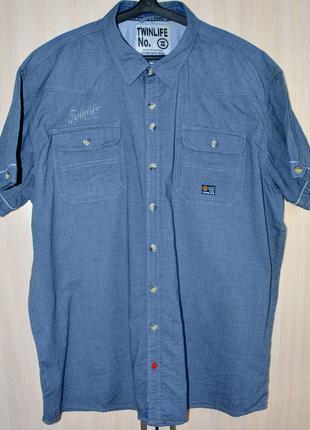 Рубашка TWINLIFE® original 4XL б.у. Y9-A7-5