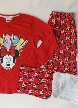 Пижама реглан-2 штанов primark англия 5-6 лет 116 см