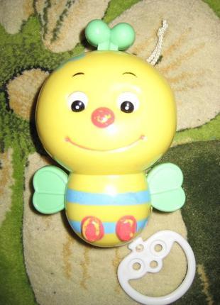 Детская музыкальная заводная игрушка - Пчелка