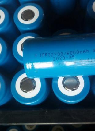 Аккумуляторы LiFePo4 32650  (32700) 6Ah (6000мАч)