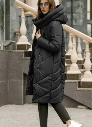 Зимняя женская молодежная куртка, размеры 42 - 46