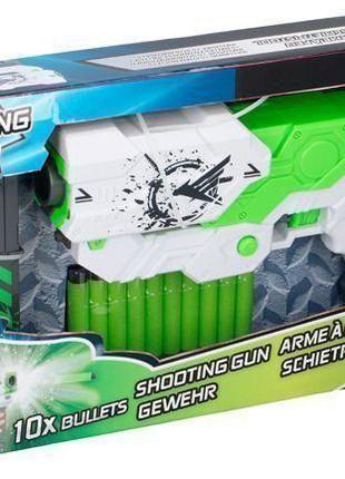 Бластер Нерф  автомат с магазином Shooting gun Nerf 27x17x6cm