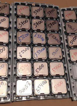 Лот 48 штук! Процессоры Socket 775 E5200/E5300/E5400/E5500/E5700