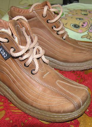 Детские зимние ботинки, 34 размер, новые.